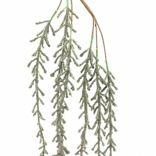 Sukkulent tendril hengende grønn, brons metallic 114cm