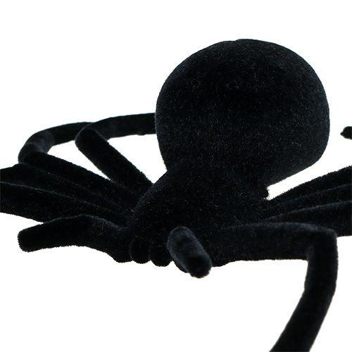 Edderkoppsvart 16cm strømmet