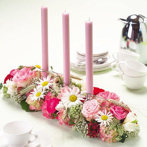 Blomsterskumdekorat Super med limstrimler 2stk