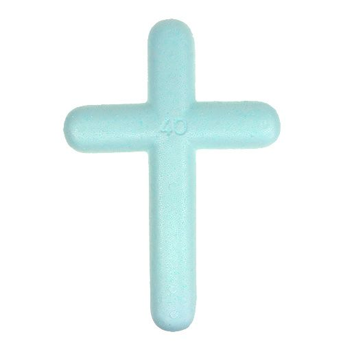 Styrofoam cross 40x27 2stk