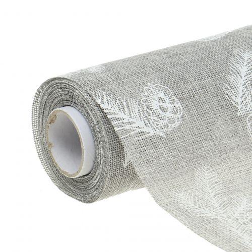 Bordbånd med granmotiv grå 20cm 5m