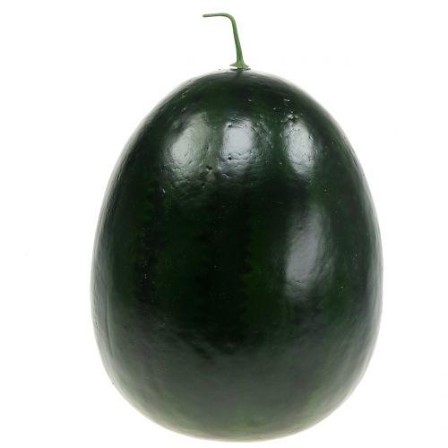 Vannmelon kunstig grønn 30cm