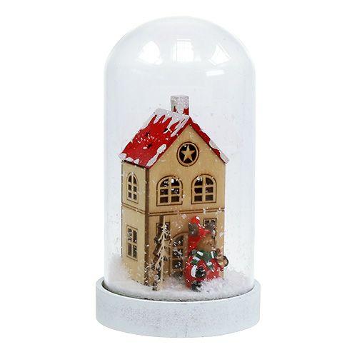 Julepynthus med bjellekrukke Ø9cm H16,5cm