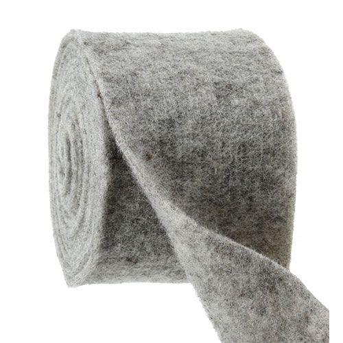 Filtbånd grå 15cm 5m