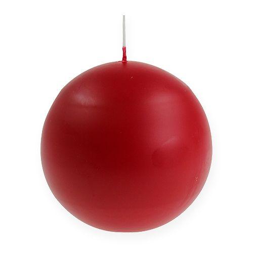 Balllys 100mm rød 6stk
