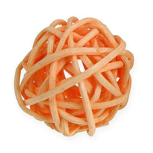 Rottingkule oransje, aprikos, bleket 72stk