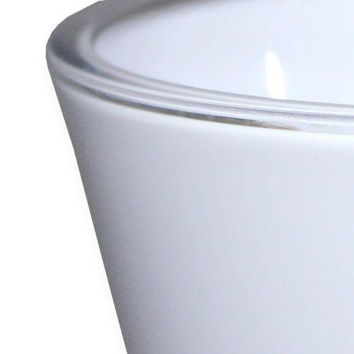 """Vase """"Fizzy"""" hvit, 1p"""